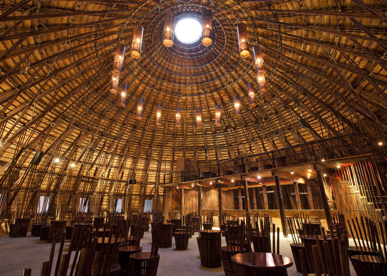 TOP TEN BAMBOO ARCHITECTURE PROJECTS